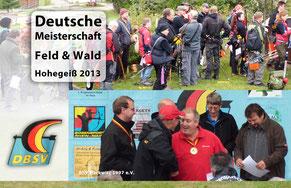 Fotocollage von der DM Feld & Wald in Hohegeiß 2013