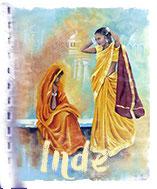 tableaux Inde, artiste peintre voyage
