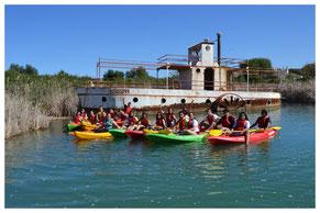 alquiler de kayaks en Arcos de la frontera