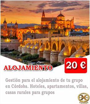 alojamiento en Córdoba para grupos