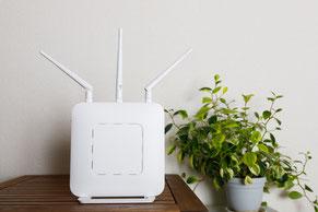 ご自宅の無線LANの範囲を中継器で拡大