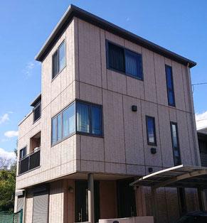 船橋市中野木の屋根・外壁塗装工事前