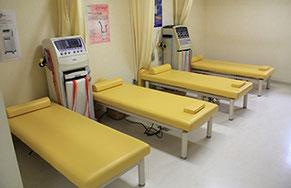江別市の川島治療院(川島はりきゅう整骨院)は、清潔な院内を心がけています。