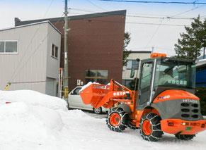 西方建設 排雪