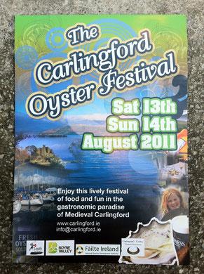 アイルランド 牡蠣 オイスターフェスティバル