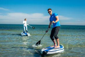 Stand Up paddling in Kühlungsborn- SUP Verleih Ostsee