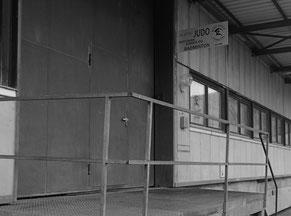 Standort - Eingang Budo Schule Gürbetal, Toffen