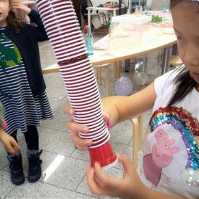 Kindergeburtstag kreativ Workshop & Spiele Duesseldorf ELA EIS