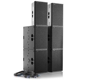 TW Audio PA SYS ONE mieten Frankfurt