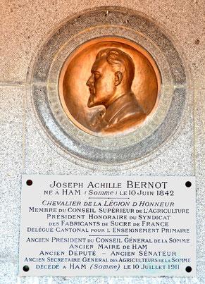 Le député Achille-Bernot-  1842-1911