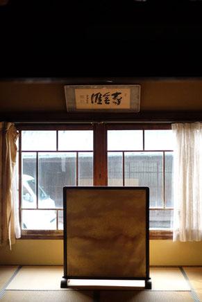 瀬戸内海の大崎下島御手洗の古い建物(展示可能スペース)
