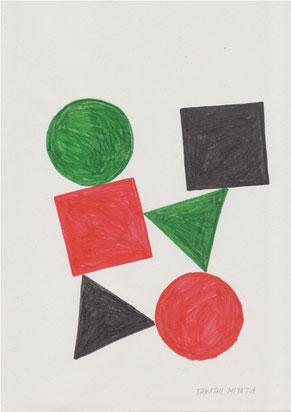 ミヤタタカシ イラストレーション/フェルトペンによるイラスト