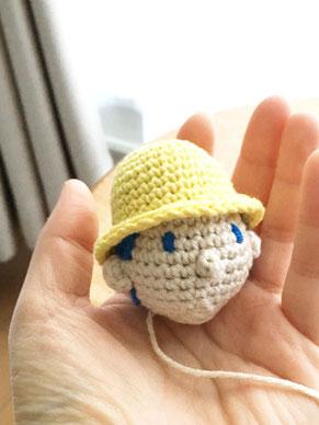 北海道の手編み作家「こまいて」のあみぐるみ作品メイキング