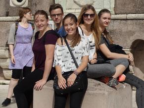 Rom: Auf der Terrasse der Engelsburg
