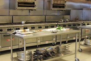 Bauplatte für Großküchen