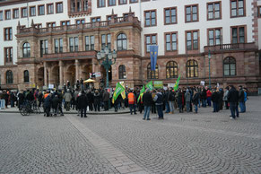 GiB-Demo am 29.2.2016: Demonstranten