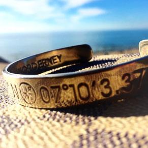Ancrage, onlineshop, Armspangen, Koordinaten, bracelet, Hotspot, hotspots, Erinnerungen, statement