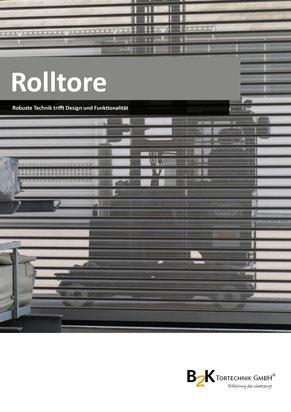 Rolltore einwandig, doppelwandig aus Stahl, Aluminium oder Edelstahl