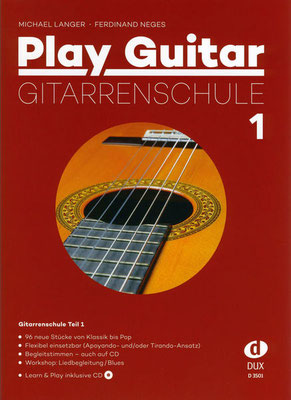 Lehrbuch Klassische Gitarre für Jugendliche und Erwachsene