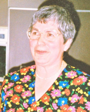 Rosemarie Förthmann: 1. Vorsitzende von 1983-1993