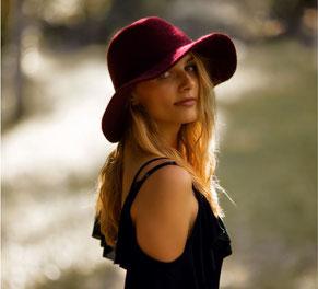 Porträt Fotoshooting sinnlich schön Frau Outdoor