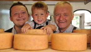 Drei Generationen Josef Grundbacher