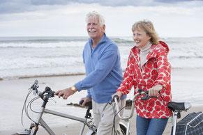Mobile Senioren dank Pflegeversicherung