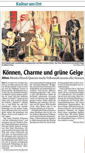 Kleinkunstverein Altbau e.V. - Monika Drasch Quartett