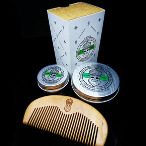 KNG BeardCare green king