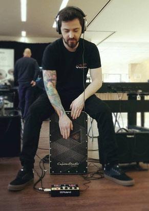 Cajon kaufen Onlineshop hochwertige hochwertig Custom Instrument Trommel CajonStudio