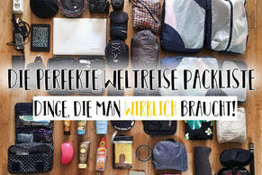 Meine Packliste für einen 50+10L Rucksack plus 25L Handgepäck