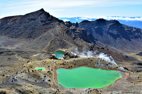 - Tongariro Crossing Alpine - Nouvelle-Zélande -
