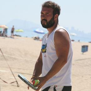 Jordi Peinado, se reincorpora como coach en nuestra Beach Tennis School