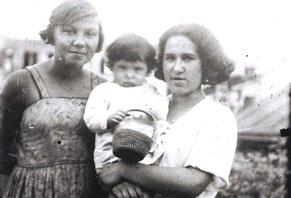 АЮ-5 Бася с Мифой и Фридой Эпель