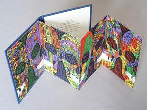 Bibliophilie Alain Bellino Vanité Crânes leporello Dumerchez Bernard Editions Editeur