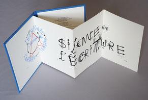 Bibliophilie  Jacques Villeglé leporello Dumerchez Bernard Editions Editeur