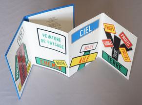Bibliophilie  Joël Ducorroy Leporello Dumerchez Bernard Editions Editeur
