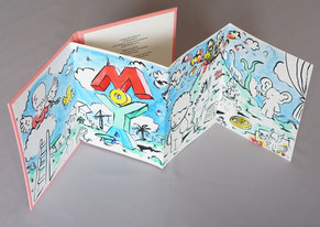 Bibliophilie Patrick Moya Leporello Dumerchez Bernard Editions Editeur