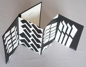 Bibliophilie Peter Stämpfli Leporello Dumerchez Bernard Editions Editeur