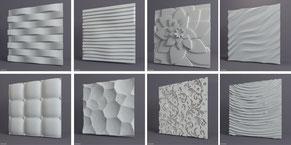 Декоративні 3D  панелі для інтер'єру
