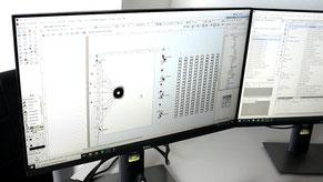 Planung Computer CAD Zeichnung