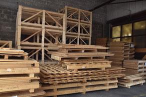 Elemente für Holzkisten