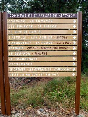 Commune de Saint-Frézal de Ventalon