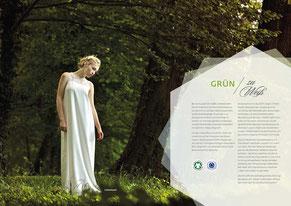 Ökologische Brautkleider