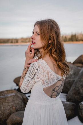 vegane Brautkleider, fair und öko
