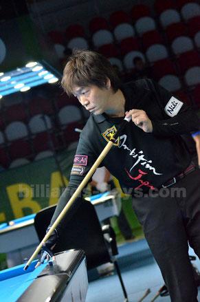 Satoshi Kawabata W-6 Hunter Lombardo