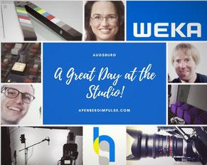 Videodreh in Augsburg für WEKA