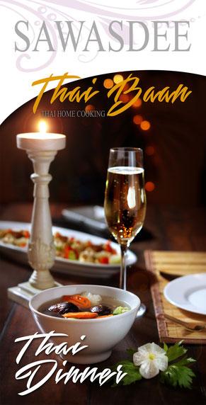 Thai Baan Kochservice Yupin Seidel, thailändische Menüs, Schaukochen