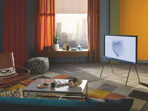 Samsung The Serif QLED Lifestyle-TV