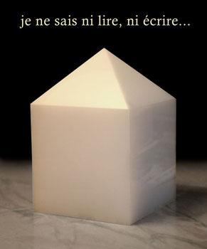 www.pierrecubique.biz  Objet crée en 2009